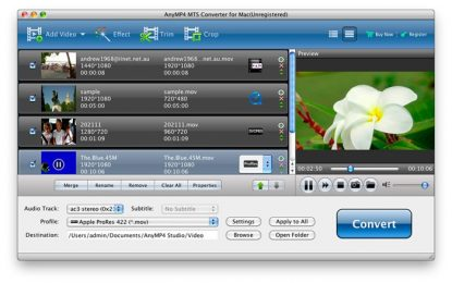 Get the MTS video converter to easily watch the videos in the desired format